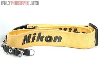 Third Party Vintage 1970s Wide Nikon Camera Strap. Graded: EXC- [#9011]