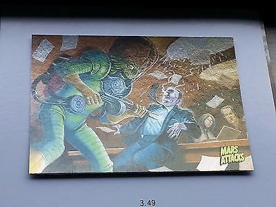 * Topps MARS ATTACKS OCCUPATION Kickstarter FOIL Variant Chase Card #20 Single *