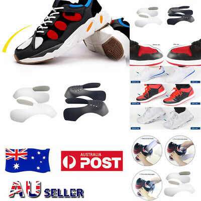 2Pairs Shoe Anti Crease Shield Sneaker Force Fields Sneaker Decreaser Protector