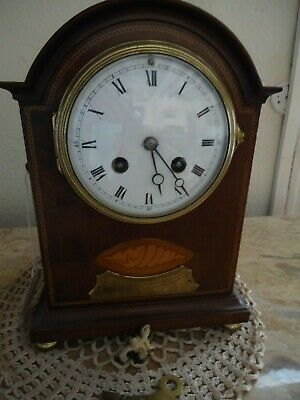 French Bracket Clock Given by Lord and Lady Tollemache to Mary Robinson 1907