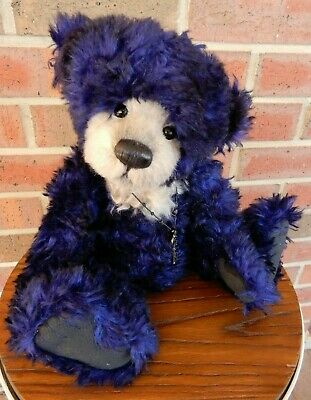 Crockett - Charlie Bears 2013 Isabelle Collection 37cm collectable mohair teddy