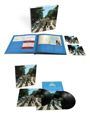 Beatles Abbey Road 2019 50th 3 LP / 3 CD / blu-ray deluxe sets NEW/SEALED