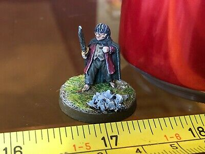 Frodo Hobbit Hero Metal Painted Middle Earth SBG GW LOTR Lord of the Rings