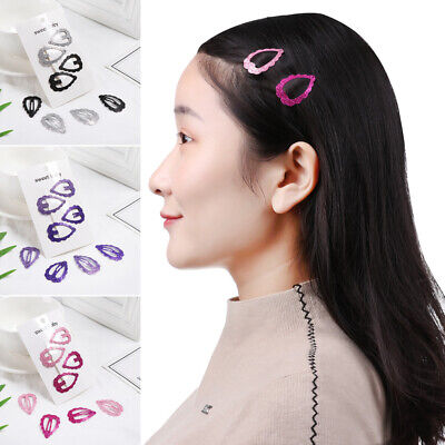 Baby Girls Heart-shaped Cute Headdress Hairpins Hair Clip Headwear BB Clips
