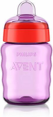 Philips Avent Easy Sip Spout Cup (260 ml, Pink)