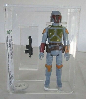 Vintage 1979 Kenner Star Wars BOBA FETT - With Rocket/Painted Knee - Graded 85