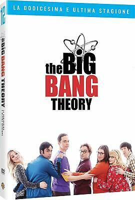 THE BIG BANG THEORY 12 La Stagione Completa (3 DVD) Serie Tv Cult Comics
