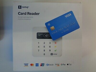 SumUp Bluetooth Card Reader For Contactless and Chip & Pin Payments Box Open