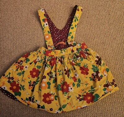Gorgeous Age 18-24 Months Little Bird by Jools Oliver Cord Corduroy Floral Skirt