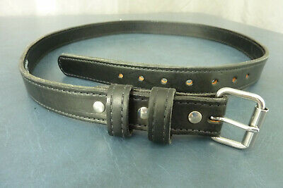 """Bull Hide Belts  Dbl Thick 46  top grain leather, 1 1/4"""" Handcrafted USA  Gun"""
