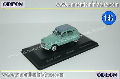Citroen 2CV 1964 Vert ODEON - OD 028 - Echelle 1/43 NEWS AVRIL 2019