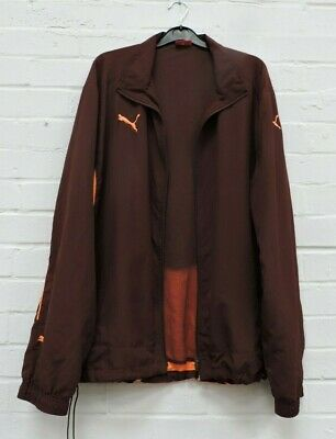 Men's Puma Burgundy Zip Close Activewear Jacket Size XL #R12-CE