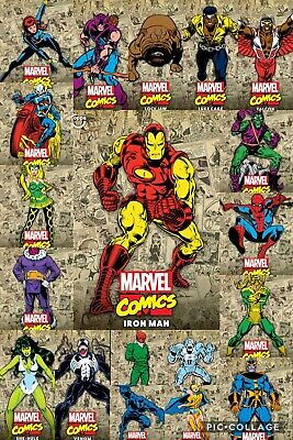 Topps Marvel Collect Classic Color Series 2 set w/Award