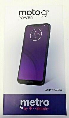 Motorola Moto G7 Power - 32GB - Blue (Metro PCS / Metro by T-Mobile)