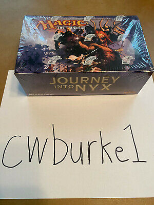 Magic The Gathering Journey Into Nyx Booster Box Sealed MTG