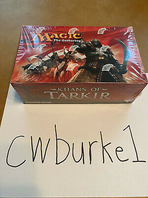 Magic The Gathering Khans of Tarkir Booster Box Sealed MTG