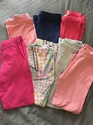 Size 6 Girls Leggings Assorted