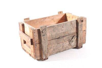 Beautiful Old Wooden Box Box Wood Art Deco Vintage Transport Chest Decor