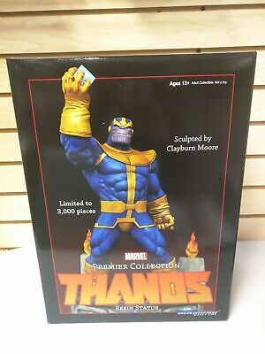 """Thanos Marvel Premier 12"""" Statue by Diamond Select  - NEW! Premiere"""