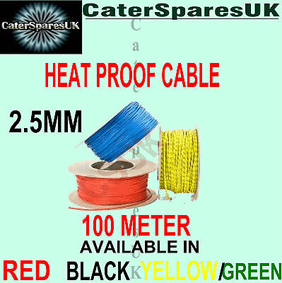 per meter heat resistant 1.5mm fibreglass wire 16amp appliance cable high temp