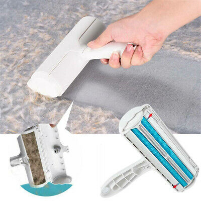 Simple Pet Hair Remover Sofa Clothes Lint Cleaning Brush Dog Cat Fur Roller
