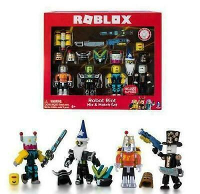 Roblox Robot Riot 4 Figure Pack Mix & Match Set Action Figure Toys Kids Gifts S2