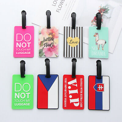 Travel Accessories Baggage Claim ID Address Tags Luggage Tag Suitcase Label