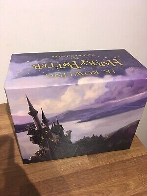 Harry Potter Box Set: The Complete Collection by J.K. Paperback Book