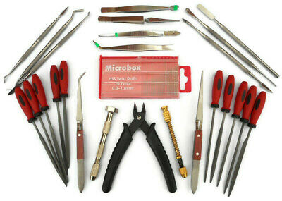 45pc Hobby Craft Tool Kit Airfix Scale Model Makers Tools Nixsell Freepost!