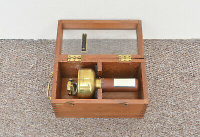 antique compass vintage SESTREL hand held compass boxed - Free delivery