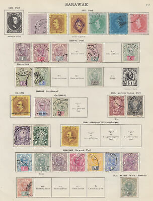 SARAWAK 1871-1935 Collection of mainly fine used - 10769