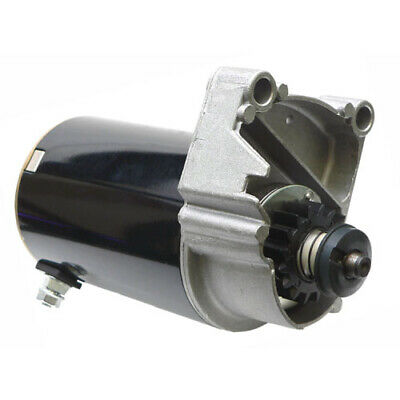 Starter Motor for Briggs V Twin Cylinder HD 14 16 18 HP with FREE GEAR
