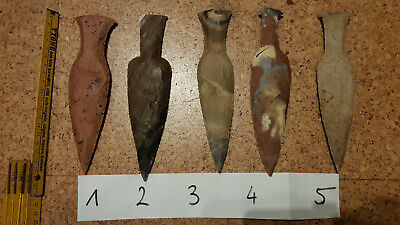 3pcs of Stone age flint  tool Danish type  (reproduction)