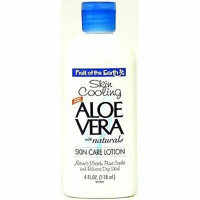 Fruit Of The Earth Aloe Vera Lotion, 4 oz. Travel Size (Pack of 12)