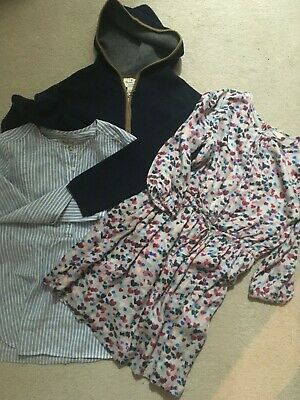 Girls Designer Bundle MASSIMO DUTTI Cardigan 9-10 Yrs, JIGSAW dress 10-11 Yrs