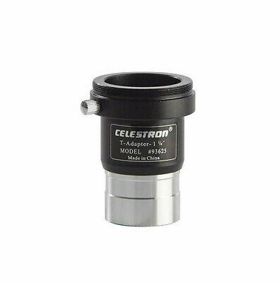 "Celestron Universal 1.25"" T-Adapter Camera Adapter For Telescope - NEW"