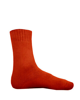 NEW Bamboo Textiles Extra Thick Socks Mens 10-14 Red