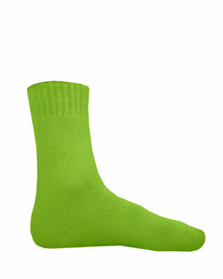 NEW Bamboo Textiles Extra Thick Socks Mens 6 -10 Womens 8-11 Lime