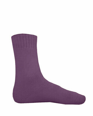 NEW Bamboo Textiles Extra Thick Socks Mens 10-14 Purple