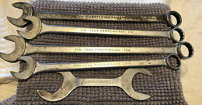 Lot Of Proto Combination Wrenches - Very Good Condition