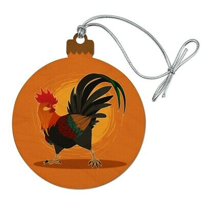 Rooster of Awesomeness Chicken Satin Chrome Plated Metal Money Clip