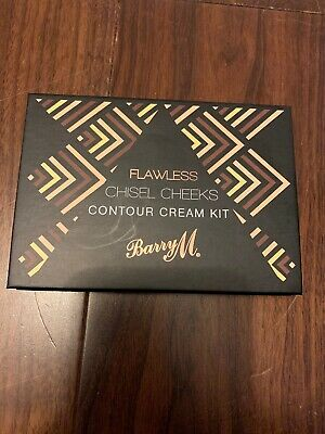 Barry M Flawless Chisel Cheeks Contour Cream Kit. New