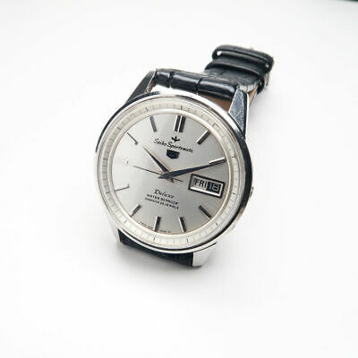 SEIKO Rare 5 SPORTSMATIC DELUXE 7606-7971 AUTO Circa 1964 Watch