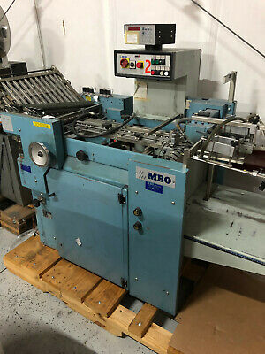 Mbo B120-1-20/4-P Continuous Feed Parallel Machine