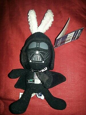 """2012 STAR WARS DARTH VADER 8"""" EASTER BUNNY PLUSH FIGURE-NEW w/TAGS"""