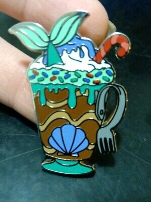 Disney Parks Happy Holidays Hot Cocoa Pin Ariel Little Mermaid Pin