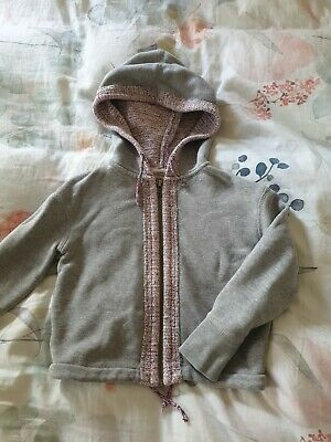 COUNTRY ROAD Size4 Jumper Zip Up Hoodie