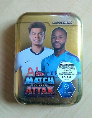 Match Attax 2019/2020 TIN - 45 cards - BRAND NEW & SEALED  Topps Sterling