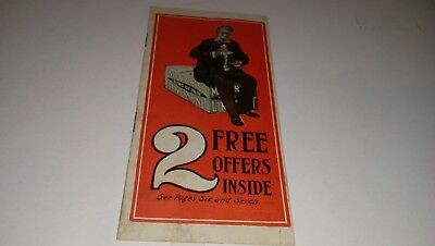 """Minards Liniment """"King of Pain"""" Antique Advertsing Booklet"""