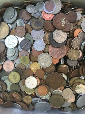 Foreign Coins - One Half (1/2 lbs) Pound Lot!